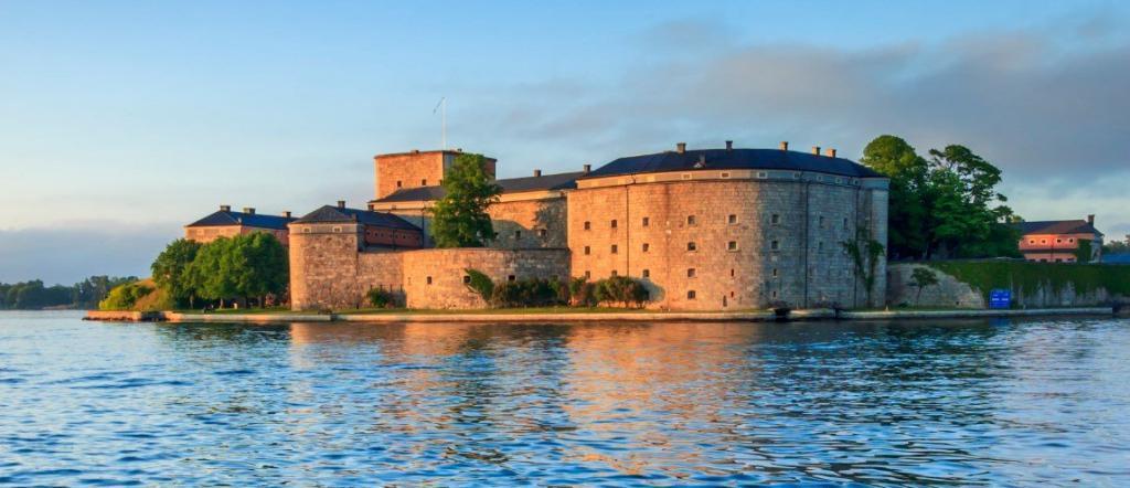 Kastellet i Vaxholm Stockholm
