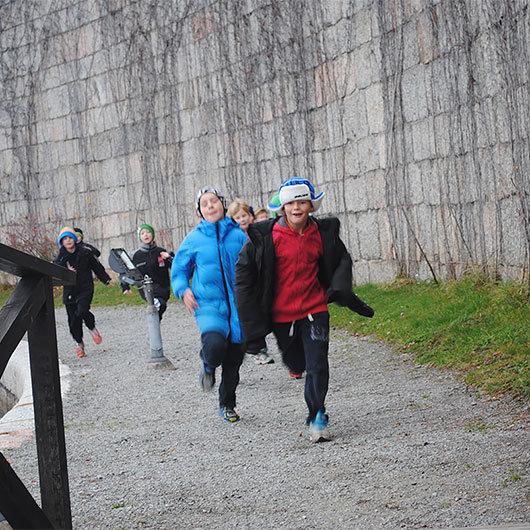 Fångarna på fortet för skolklasser