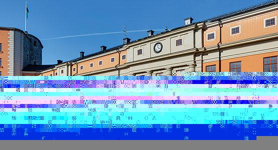 Borggården på Kastellet, Vaxholm