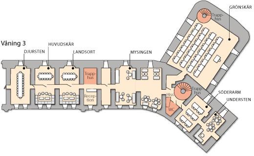 Våning 3 på Kastellet