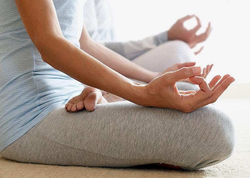 Yoga på Kastellet
