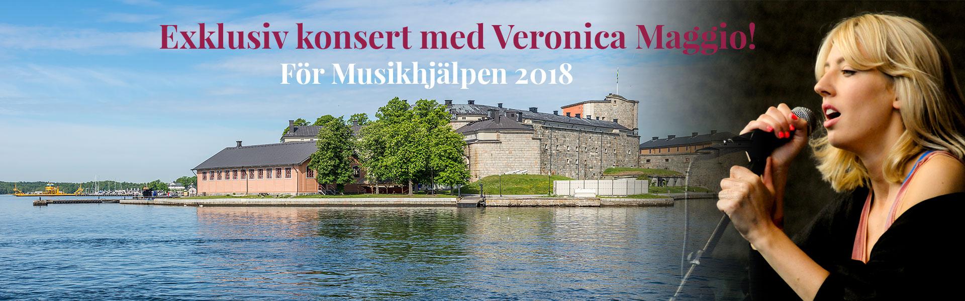 Exklusiv konsert med Veronica Maggio