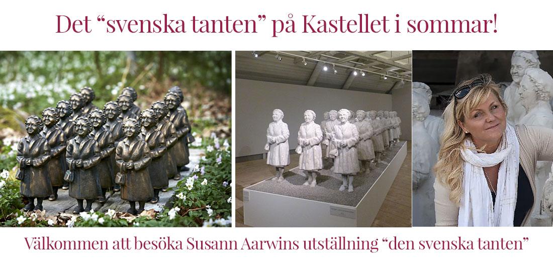 Den svenska tanten på Kastellet