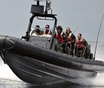 RIB-Båt från Kastellet, Vaxholm